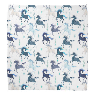 Running Unicorns bandana