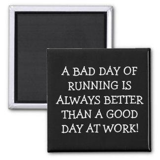 Running vs. Work Magnet