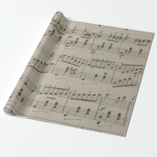Running Waltz Wrapping Paper