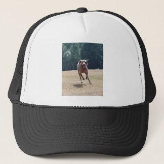 Running Weimeraner Trucker Hat