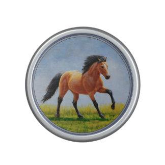 Running Wild Buckskin Horse Speaker