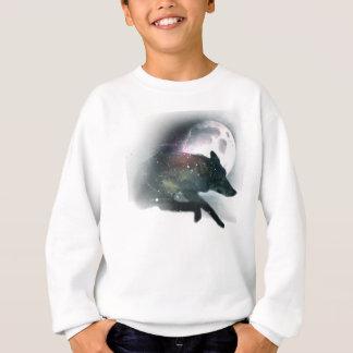 Running Wild Wolf Moon Sky Sweatshirt