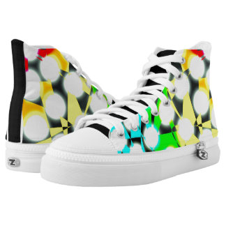 Running with the Rainbow High Tops