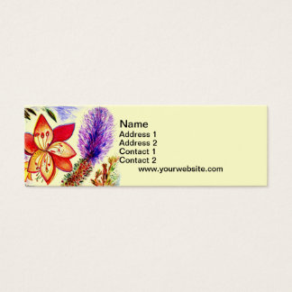 Running with the Wind Mini Business Card