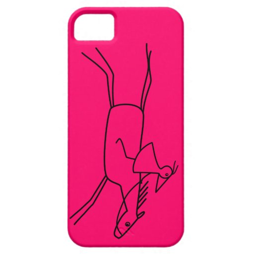 RUNNY rider with horse iPhone 5 Case