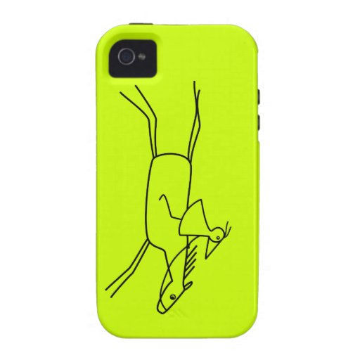 RUNNY rider with horse Case-Mate iPhone 4 Cases