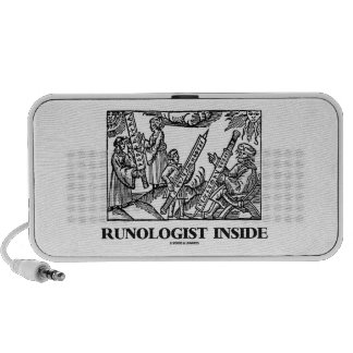 Runologist Inside (Educated In Runelore) Mp3 Speakers