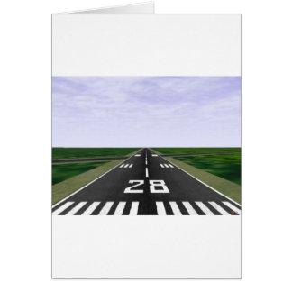 Runway Greeting Card