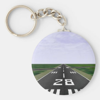 Runway Key Ring