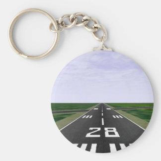 Runway Keychain