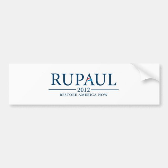 RuPaul 2012 Bumper Sticker