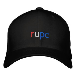 rupc embroidered hat
