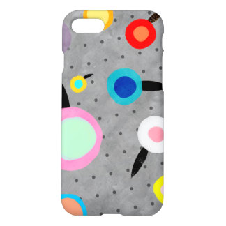 Rupdetequila Grey Polka Dots iPhone 8/7 Case