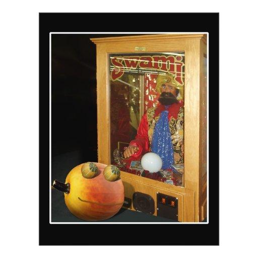 Rupert Halloween Pumpkin & The Swami Flyer