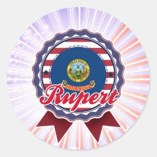 Rupert, ID Round Sticker