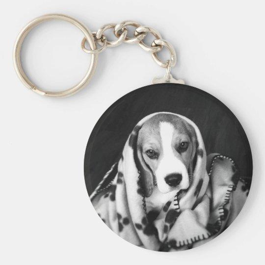 Rupert the Beagle Puppy Dog Key Ring Basic