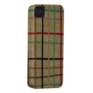 Rupydetequila Handmade Checked Pattern Case