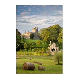 Rural Crom Castle Landscape Acrylic Wall Art