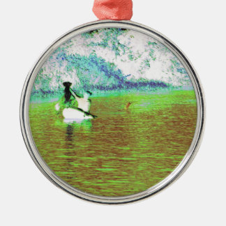 Rural Fishing in Cuba Christmas Ornament