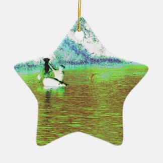 Rural Fishing in Cuba Christmas Ornament