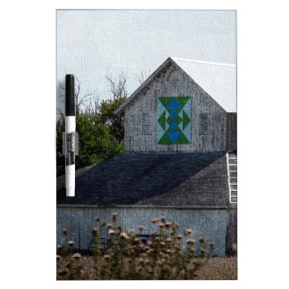 Rural Iowa Barn With A Quilt Dry Erase Board
