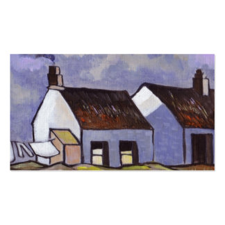 Rural irish cottages business cards