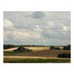 Rural landscape 21.5 cm x 28 cm flyer