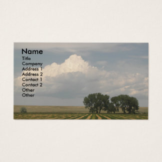 Rural Landscape Photo Business Card