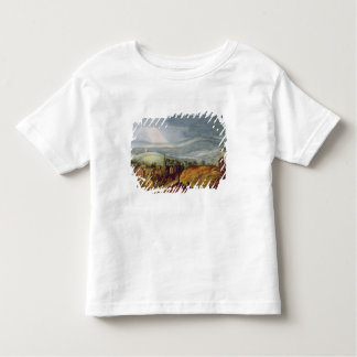 Rural Landscape with a Pilgrim Kneeling Before the Toddler T-Shirt