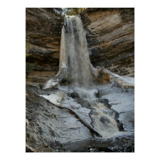 Rural Michigan Waterfall Print