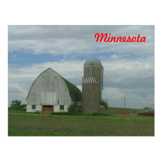Rural Minnesota Postcard