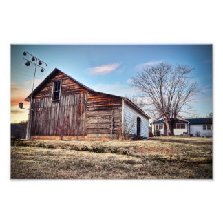Rural North Carolina Photo Print
