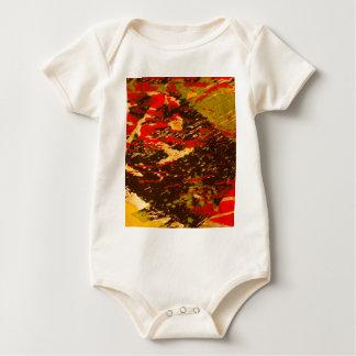Rural patterns 1 baby bodysuit