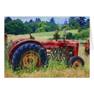 Rural Retirement Greeting Card