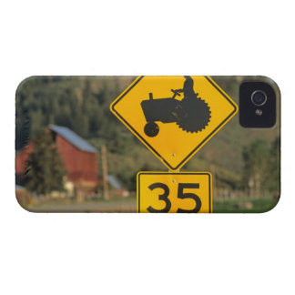 Rural road sign; Methow Valley; Washington iPhone 4 Case