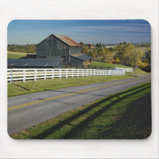 Rural road through Bluegrass region of 2 Mouse Mat
