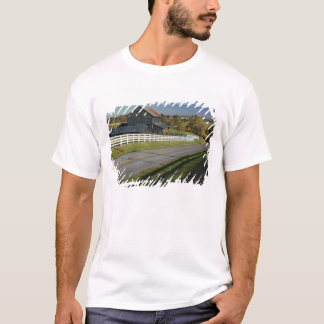 Rural road through Bluegrass region of 2 T-Shirt