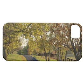 Rural road through Bluegrass region of Kentucky 2 iPhone 5 Cases