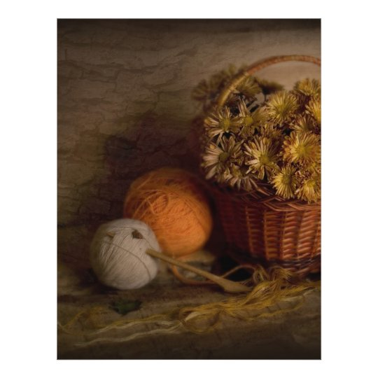 Rural Still Life 21.5 Cm X 28 Cm Flyer