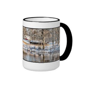 Rural Tennessee Snow Scene Coffee Mug