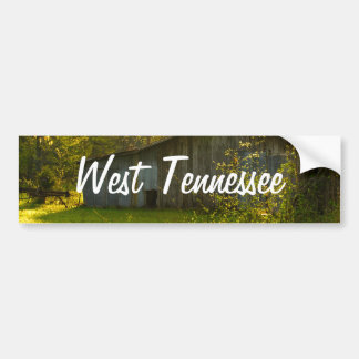 Rural Tennessee Spring Morning Light Bumper Sticker