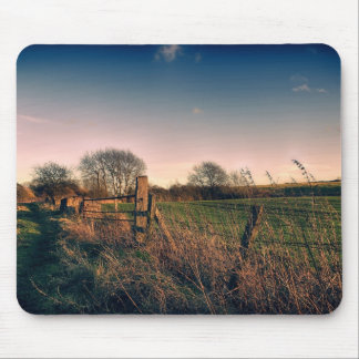 Rural Walk Home Mouse Pad