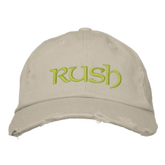 Rush cap for the new greeks/diy font+color embroidered cap