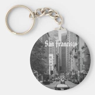 rush hour in San Francisco Key Ring