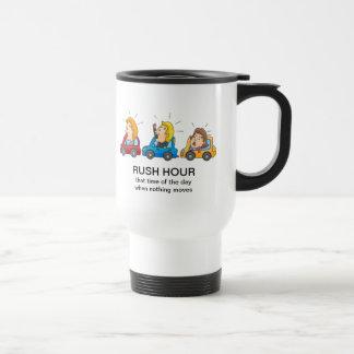 Rush Hour Stainless Steel Travel Mug