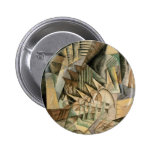 Rush Hour, New York by Max Weber, Vintage Cubism Pins