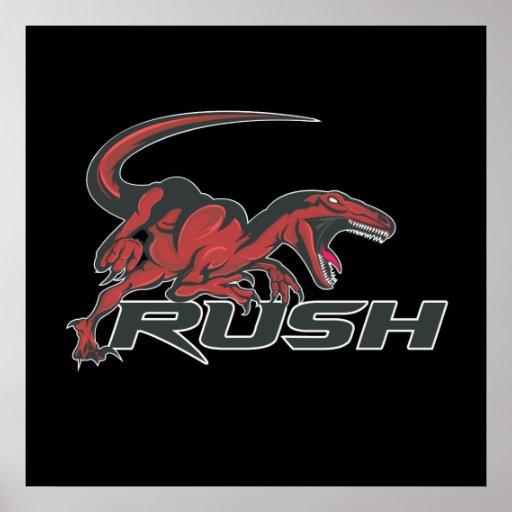 """Rush Poster 24""""x24"""""""