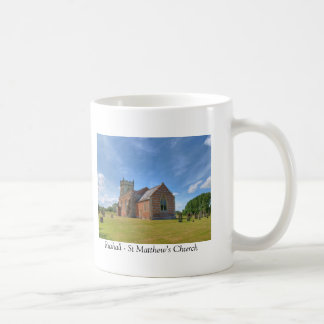 Rushall St Matthew's Church Coffee Mug