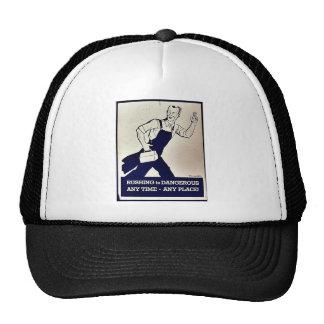Rushing Is Dangerous Trucker Hat