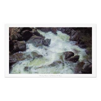 """""""Rushing Rapids,"""" Yosemite Nature Decor Photo"""